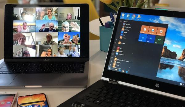 How to organise your online meeting with the help of an interpreter